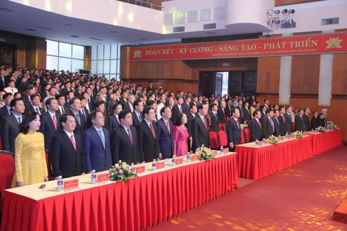 Tham dự buổi lễ có các lãnh đạo, nguyên lãnh đạo Đảng và Nhà nước; lãnh đạo, nguyên lãnh đạo tỉnh Thanh Hóa qua các thời kỳ.