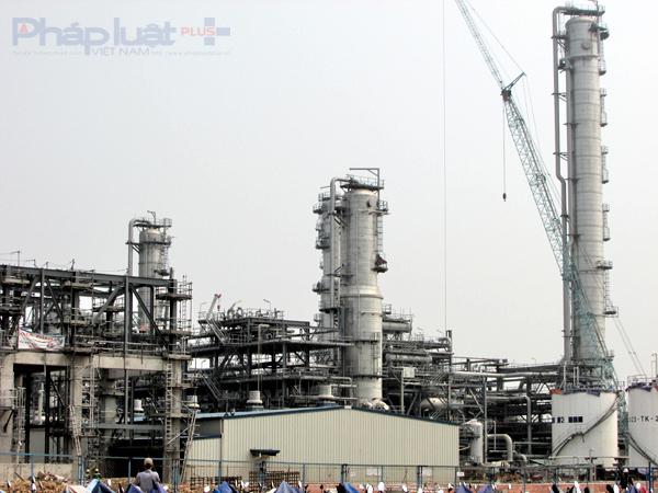 Dự án Lọc hóa dầu Nghi Sơn chậm tiến độ vì chưa đủ điều kiện chạy thử