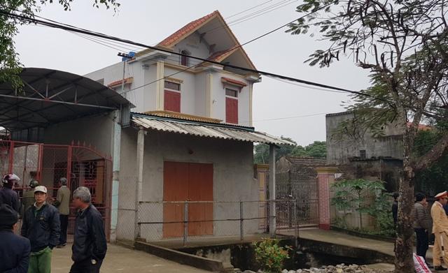 Căn nhà nơi xảy ra vụ án mạng đau lòng. (Ảnh: AT.)