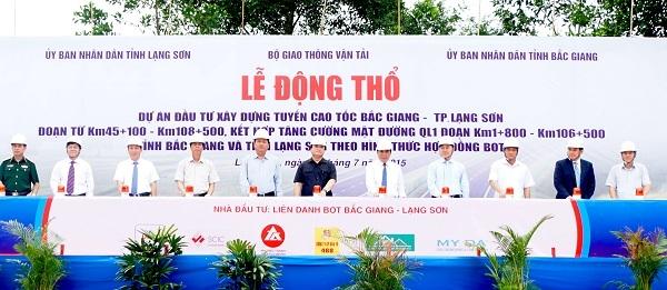 Dự án BOT Bắc Giang - Lạng Sơn
