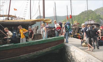 Số lượng khách du lịch đến Hải Phòng năm 2015 ước đạt 5,59 triệu lượt.