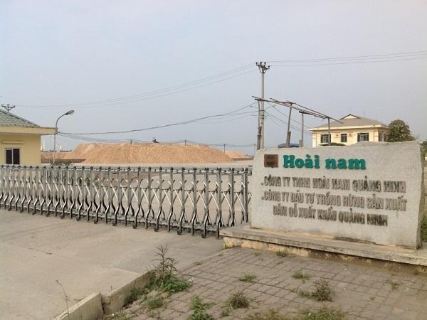 Việc UBND tỉnh Quảng Ninh tiến hành thu hồi đất của Công ty Hoài Nam khiến cho doanh nghiệp này lao đao.
