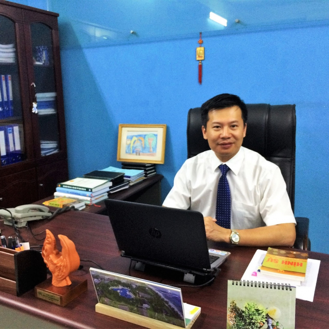LS Hoàn Minh HIển, đoàn LS TP Hà Nội.