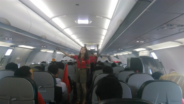 Chuyên chơ đưa các cầu thủ U23 Việt Nam về nước.