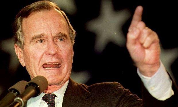 Cố Tổng thống Mỹ George H.W Bush.