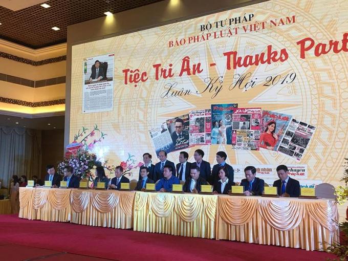 Báo Pháp luật Việt Nam tri ân cộng tác viên, đối tác đầu xuân Kỷ Hợi
