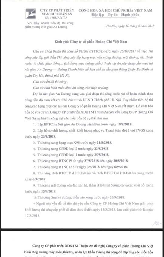 """Nghi án rút ruột dự án nút giao An Dương- đường Thanh Niên: Chủ đầu tư có """"đánh bùn sang ao""""? - Ảnh 5"""