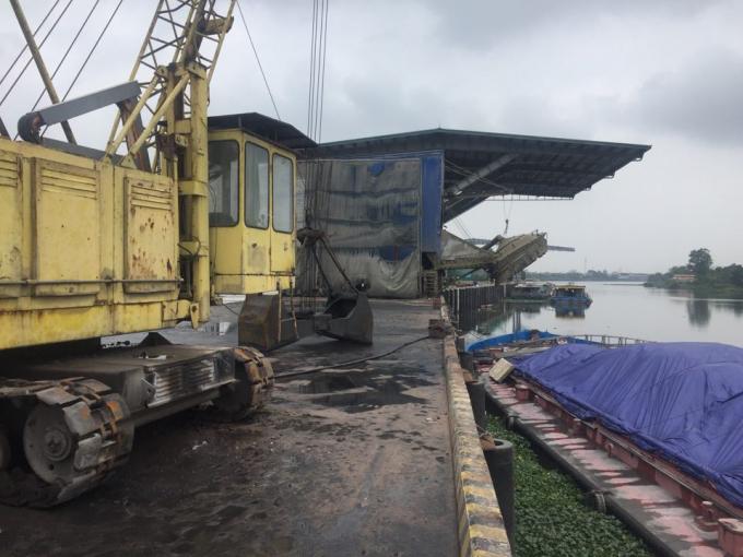 Công ty TNHH Quang Khải đầu tư trang thiết bị máy móc phục vụ hoạt động bốc dỡ, vận chuyển hàng hóa tại cảng Bút Sơn.