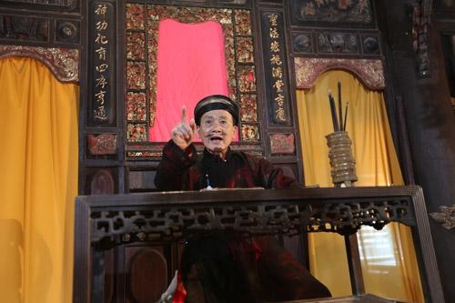 Nghệ sĩ Phạm Bằng trong một vai diễn.