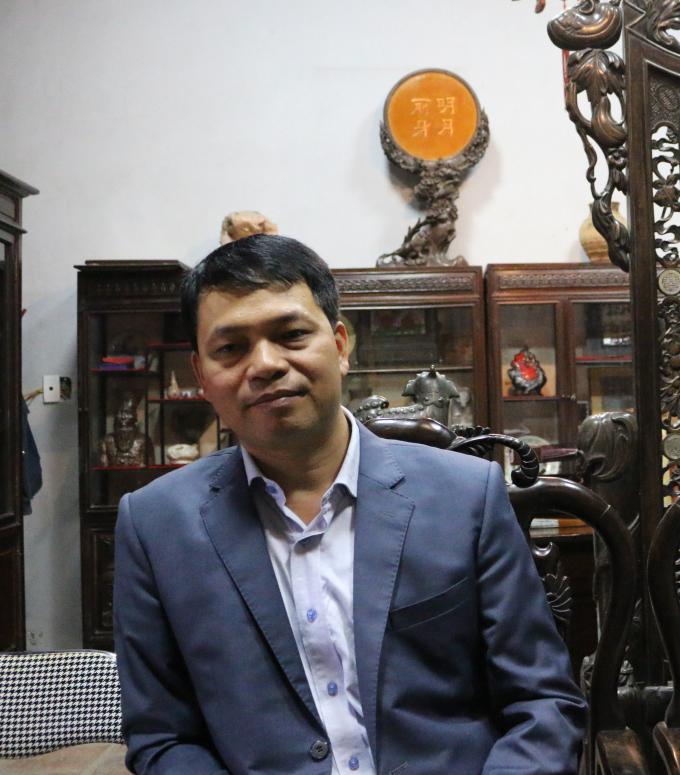 ÔngLê Xuân Kiêu, Giám đốc Trung tâm Hoạt động văn hóa khoa học Văn Miếu khẳng định không hề sơn mới các hạng mục tại di tích Văn Miếu - Quốc Tử Giám.