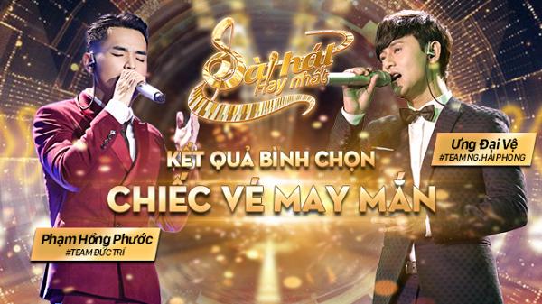 Ưng Đại Vệ và Phạm Hồng Phước sẽ chính thức được quay trở lại Sing My Song - Bài hát hay nhất. Ảnh Saostar.vn.