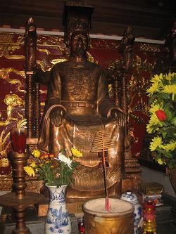 Vua Trần Thánh Tông - một ngôi sao sáng của thiền học thời Trần.