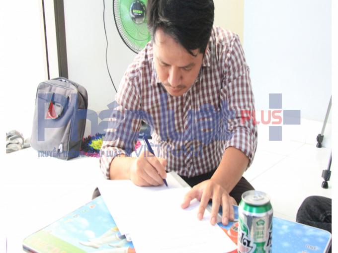 Ông Hồ Anh Hùng -Công ty TNHH Bia Carlsberg Việt Nam.