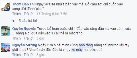 Nhổ răng cho con bằng xe máy, ông bố Ninh Bình khiến cư dân mạng cười ngất ngưởng