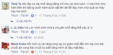 Cư dân mạng bày tỏ cảm xúc sau khi xem xong clip (Nguồn ảnh: Chụp từ facebook)