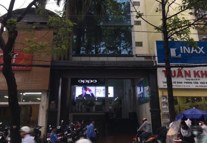 Tòa nhà 407 Tô Hiến Thành và 173/40 Thành Thái- nơi xảy ra tranh chấp giữa Công ty Sao Kim và chủ nhà.