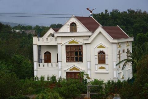 Biệt thự của Phó Ban Nội chính tỉnh ủy Đắk Lắk