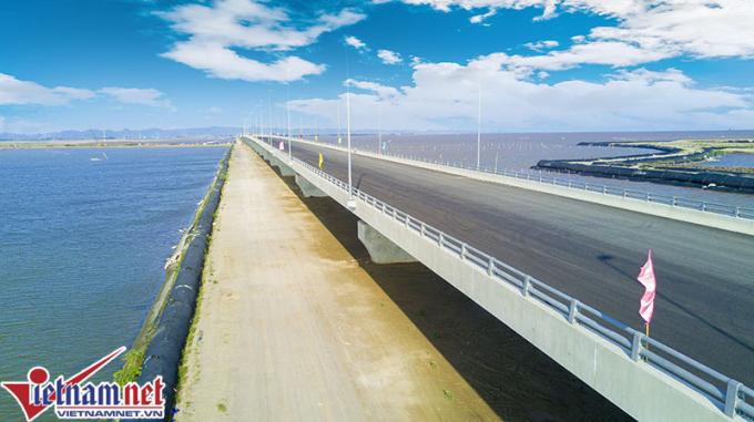 Cầu vượt biển dài nhất Việt Nam là công trình phải bảo đảm an toàn nghiêm ngặt