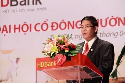 Ông Nguyễn Hữu Đặng, TGĐ HDBank.