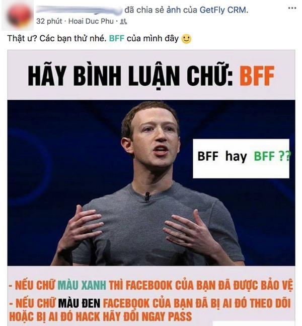 Cách thức để kiểm tra tài khoản Facebook được nhiều người lan truyền trong những ngày gần đây