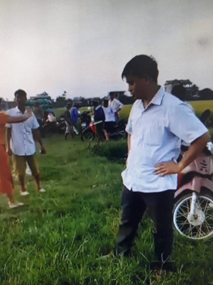 Ông Ngô Văn Ban - Trưởng thôn An Tràng.