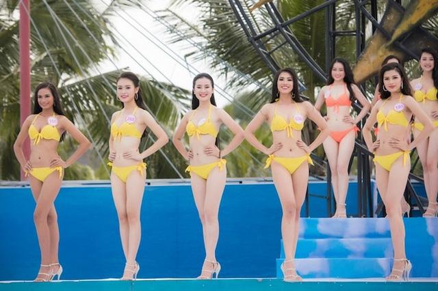 Phần thi bikini trong các cuộc thi hoa hậu luôn được xem là phần thi hấp dẫn nhất.