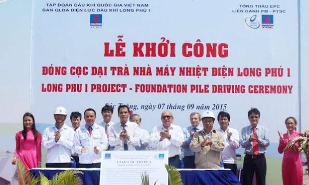 PVN cho rằng, Long Phú chậm tiến độ chủ yếu do nhà thầu