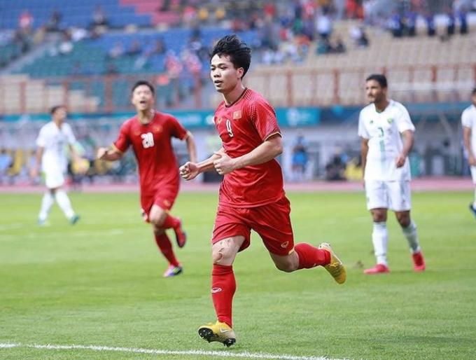 ASIAD 18 là giải đấu cuối cùng của Công Phượng ở lứa tuổi U23