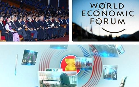 Hội nghị WEF ASEAN 2018 diễn ra tại Hà Nội từ11 - 13/9/2018. Đâylà hoạt động đối ngoại đa phương lớn nhất trong năm do Việt Nam tổ chức.