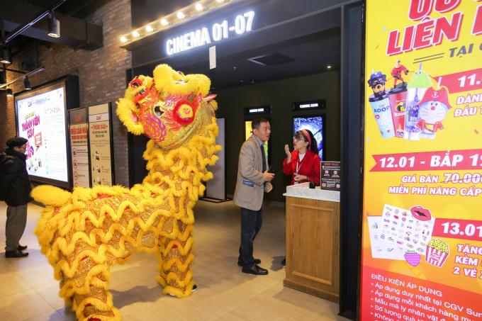 Rạp chiếu phim CGV đẳng cấp tại tầng 5 TTTM Sun Plaza Ancora thu hút giới trẻ Hà thành.