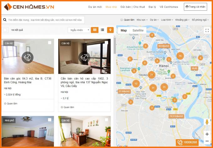 """Mô hình """"Bán nhà kiểu mới"""" tại CenHomes"""