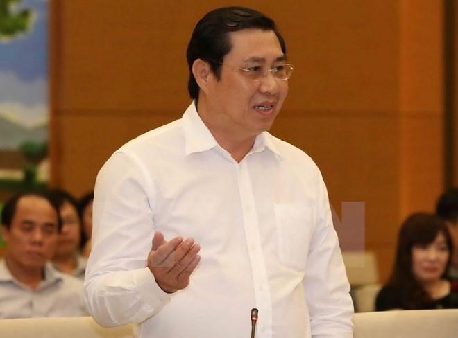 Chủ tịch Ủy ban nhân dân thành phố Đà Nẵng Huỳnh Đức Thơ. (Ảnh: Phương Hoa/TTXVN)