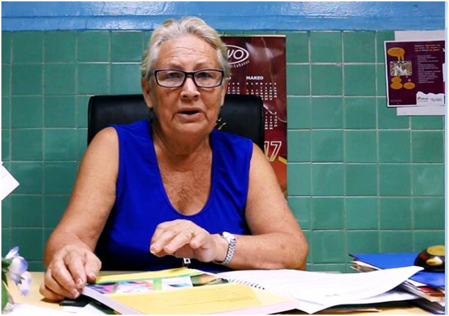 BàMaria Victoria Luna Martinez, Viện phó Viện Dinh Dưỡng Cuba