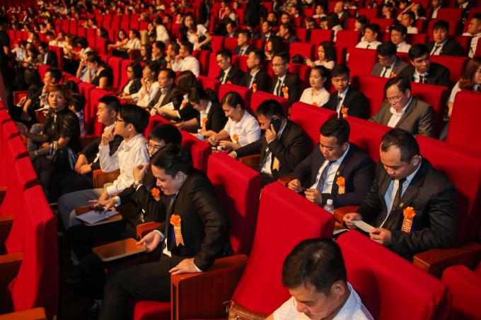 Giải thưởng nhận được sự quan tâm của lãnh đạo các ban ngành và những người hoạt động trong lĩnh vực bất động sản.