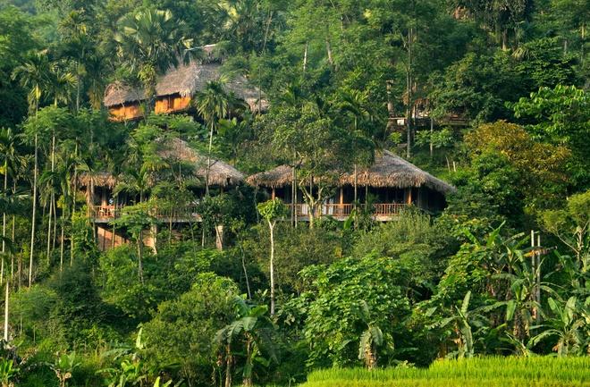 Khu du lịch tự phátPù Luông Retreat. (ảnh VNEXPRESS).