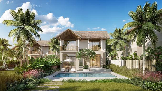 """""""Ngôi làng nghỉ dưỡng"""" Sun Premier Village Kem Beach Resort ẩn mình trong quần thể hệ sinh thái nghỉ dưỡng- vui chơi giải trí tỷ đô tại Bãi Kem."""
