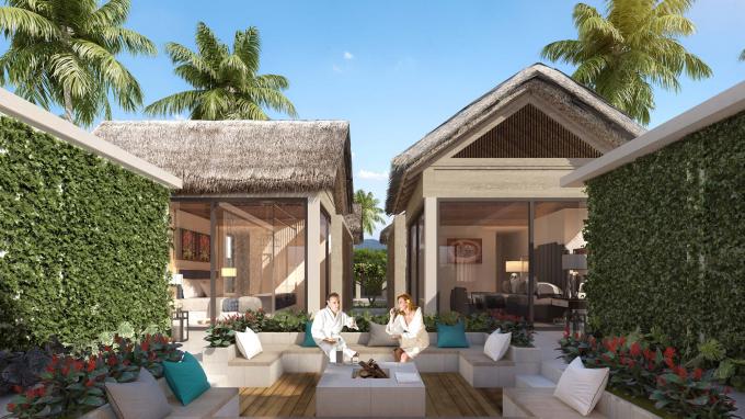 Mọi biệt thự tại Sun Premier Village Kem Beach Resort đều sở hữu không gian riêng tư, trong lành,