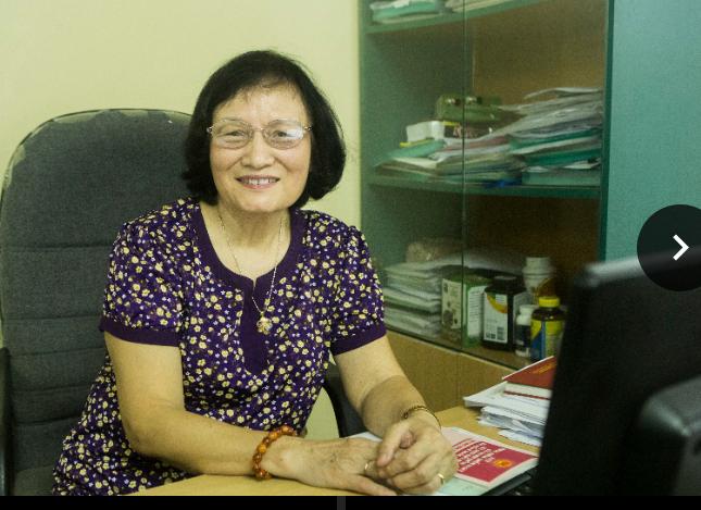 Bà Trịnh Thị Lê Trâm, Chủ tịch Hội phòng chống HIV/AIDS Hà Nội, Giám đốc Trung tâm tư vấn Pháp luật và Chính sách về y tế, HIV/AIDS.