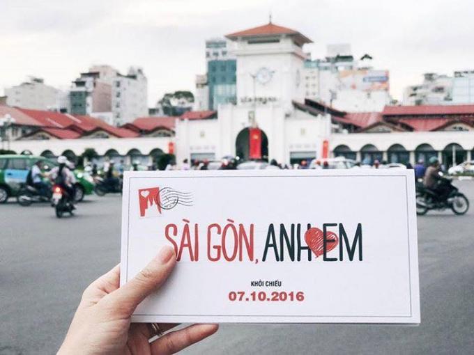 'Sài Gòn, anh yêu em' công phá các rạp phim tại Úc