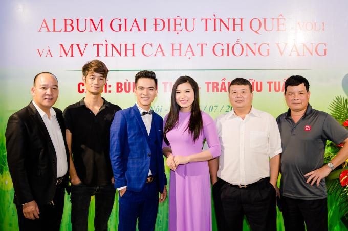 Cặp đôi Tuyệt đỉnh song ca Hữu Tuấn và Bùi Thúy ra mắt album tri ân khán giả