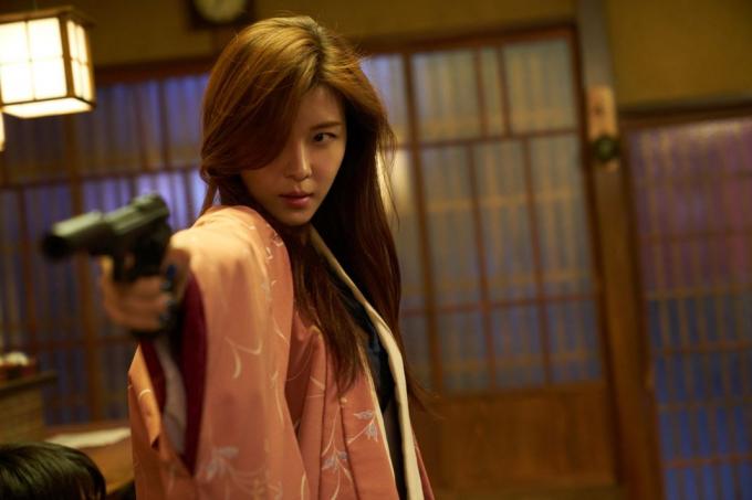 """""""Đả nữ"""" Ha Ji-Won."""