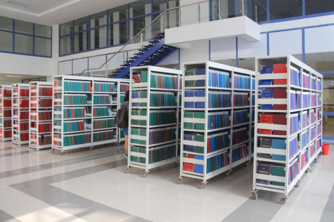 Thư viện mới đẳng cấp, hoành tráng như ở
