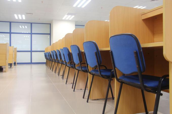 Phòng đọc riêng cho sinh viên.