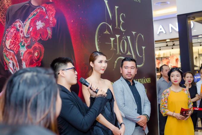 Ngọc Quyên và Lâm Vinh Hải giao lưu với khán giả miền Tây sau phim