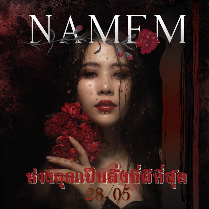 Nam Em và ekip cũng chính thức tung poster chính thức cho sản phẩm mới, bất ngờ dòng chữ tiếng Thái cùng thời điểm 28/5 gợi nhiều sự tò mò.