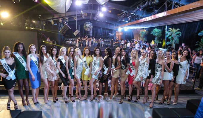 Chi Nguyễn không sợ bị lép vế khi đứng cạnh các thí sinh Miss Asia World