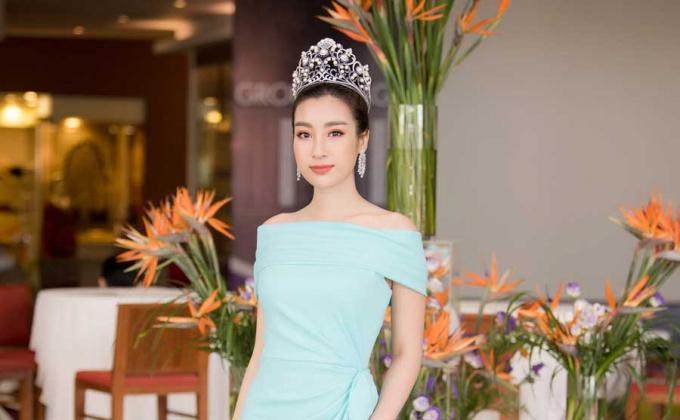 Hoa hậu Đỗ Mỹ Linh tự tin với vai trò giám khảo cuộc thi Hoa hậu Việt Nam 2018