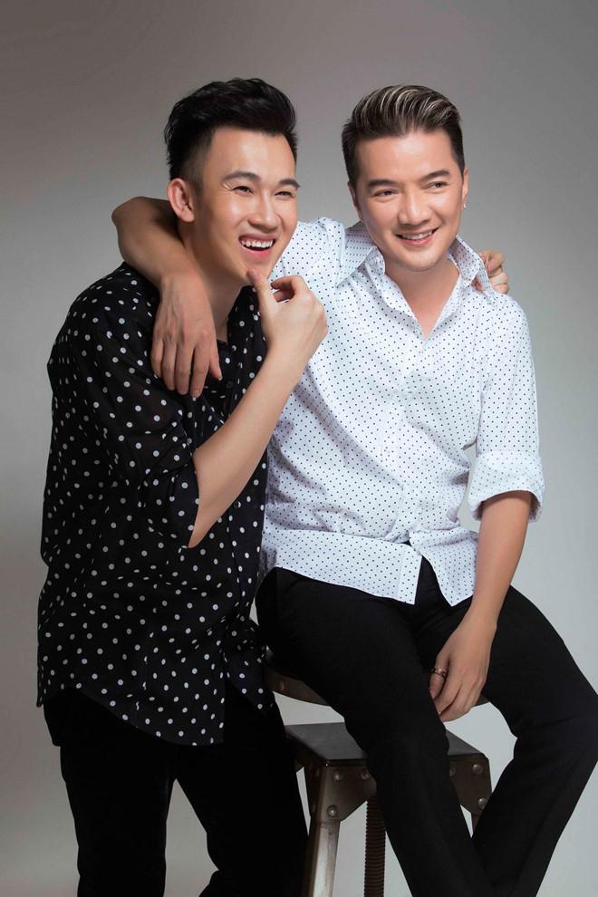 Đàm Vĩnh Hưng và Dương Triệu Vũ.