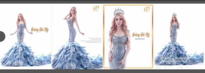 Hoa hậu Hoàng Hải My dùng xe limousine đón khách đến biệt thự triệu đô ngày ra album