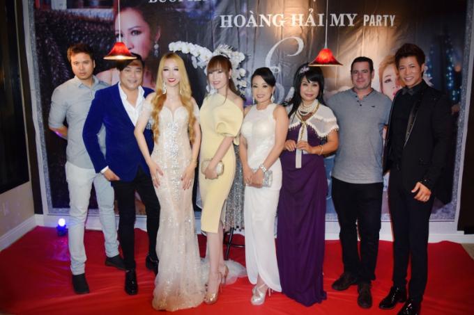 Hoa Hậu Hoàng Hải My tổ chức tiệc ra mắt CD & DVD tại biệt thự mặt tiền biển triệu đô ở Mỹ